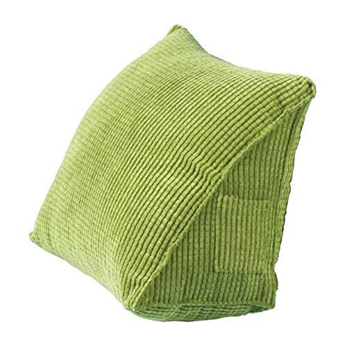 Cuscino triangolare posteriore, cuscino a cuneo per supporto