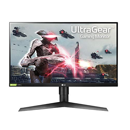 LG 27GL650F-B 68,58 cm (27 Zoll) Gaming Monitor (UltraGear Full HD IPS, 144Hz, 1ms, AMD Radeon FreeSync, DAS Mode) schwarz