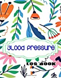 Blood Pressure Log Book Large Print: Blood Pressure Log Record Book Size 8.5x11 INCH ~ Tracker - Pulse # Weeks ~ Glossy Cover Design Cream Paper Sheet 116 Page Standard Prints.