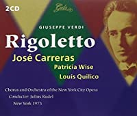Verdi: Rigoletto by CARRERAS / NEW YORK CITY OPERA / RUDEL