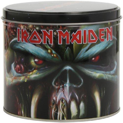 Geschenkset Iron Maiden bestehend aus ( Geschenk Dose, Tasse, Schlüsselanhänger ) Fanartikel