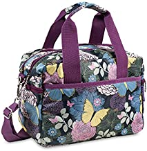 J World New York Aby Bag Travel Tote, Secret Garden, One Size