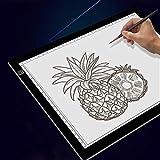 HLSUSAN Tavoletta Luminosa A3 Lavagna Luminosa per Disegnare, Tavoletta Luminosa Disegnare Schizzi, Gli Artisti, Disegnare, Animazione