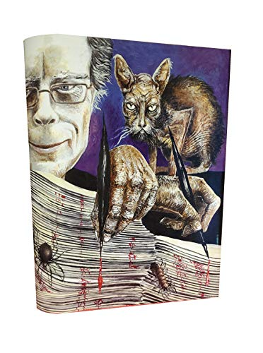 STEPHEN KING NEW COVER SERIES No. 81 IF IT BLEEDS - 1 / 500 (Artist Signed, Cover only)