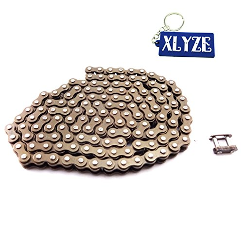 XLYZE Cadena 25H 428mm con llave maestra de repuesto para 47cc 49cc Mini Dirt ATV Pocket Bike Mini Moto