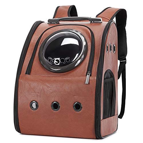 Texsens Innovative Traveler Bubble Backpack Pet Carriers Airline Travel Approved Carrier Switchable...