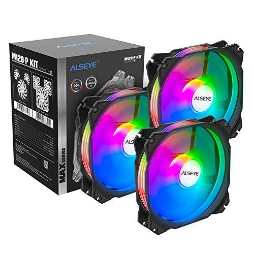 ventiladores 120mm aura sync fabricante ALSEYE