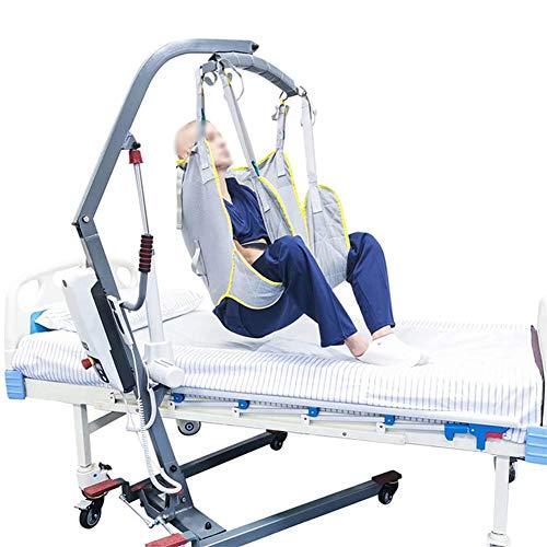 WLKQ Arnés De Elevación Paciente De Cuerpo Completo, Grúa de Paciente, Eslinga De Elevación con Accesorios De Bucle,para Posicionamiento Y Elevación De La Cama,Enfermería, Cuidador 507 Libras 🔥