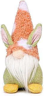1PCS Handmade Gnome Faceless Plush Doll for Kids Women Men Easter Decoration Ornament Gift Orange