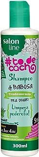 Shampoo Uso Diário 300ml to de Cacho Babosa Unit, Salon Line