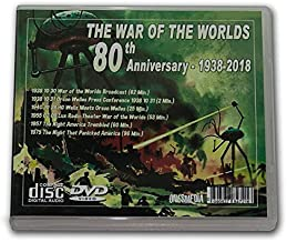 WAR OF THE WORLDS BROADCAST - OLD TIME RADIO - 75th ANNIVERSARY - 2 AUDIO CD