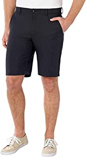 Greg Norman Men's ML75 Microfiber Ultimate Travel Luxury Performance Shorts Golf (Heather Black,42)