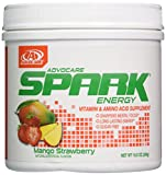 Advocare Spark Canister Energy Drink (Mango Strawberry) 1lb 6.2oz by Advocare