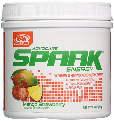 AdvoCare Spark Energy Drink (Mango Strawberry), 10.5 Ounce