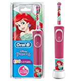 Oral-B Stages Power Kids Electric Rechargeable Toothbrush Featuring Disney Princesses, 1 Handle, 1