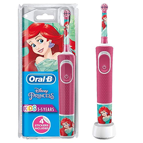 Oral-B Junior Kids elektrische tandenborstel Oplaadbaar voor kinderen Prinses