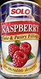 Solo Cake/Pastry Filling Raspberry, 12 oz X 2 cans...