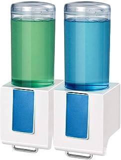 Premium Quality Zeepdispenser Handmatig Zeepdispenser wandkleed Zonder Ponsen Hand Sanitizer Dispenser Double Head Ba (Col...
