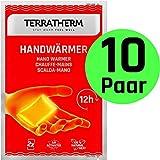 [page_title]-TerraTherm Handwärmer, Fingerwärmer für 12h warme Hände, Wärmepads Hand durch Luft aktiviert, 100% natürliche Wärme, Taschenwärmer, 10 Paar