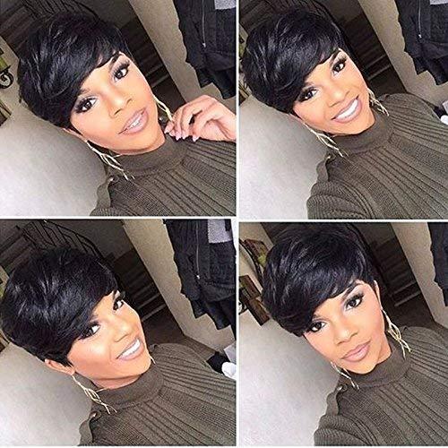 Aiweise Human Hair Short Pixie Wigs Laye Buy Online In Grenada At Desertcart