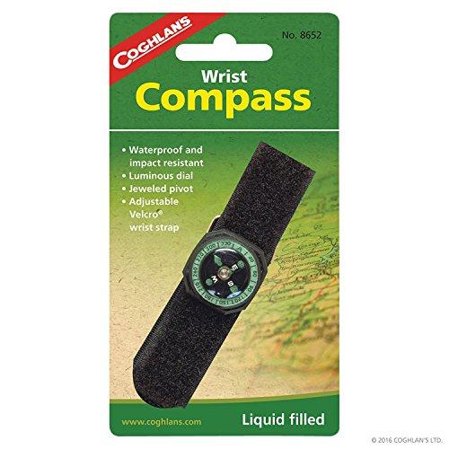 Coghlans Armbandkompass - Flüssigkeitsgedämpft