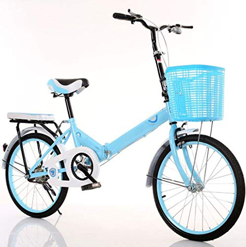 For Sale! JTDSQDC Mini Bicycle Student Male and Female Style 20 inch Adult Travel Single Folding Bic...