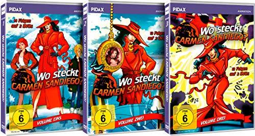 Wo steckt Carmen Sandiego? - Gesamtedition (6 DVDs)