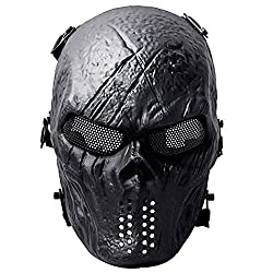 Coxeer Airsoft Mask Full Face Tactical Airsoft Mask