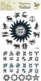 Supperb Temporary Tattoos - Zodiac Temporary Tattoos