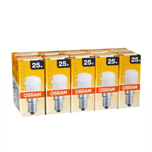 OSRAM Glühlampe SPECIAL T-Kolben/Birnenform SPC. T26/57 FR 25W E14 VPE=10 Stück