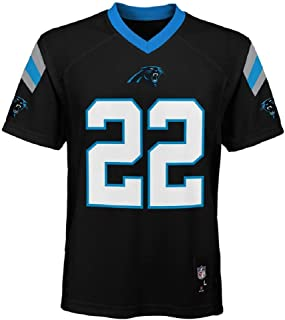 Outerstuff Christian McCaffrey Carolina Panthers NFL Kids 4-7 Black Home Mid-Tier Jersey