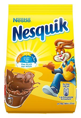 Nestlé Nesquik Kakaohaltiges Getränkepulver, 14 x 500g Nachfüllbeutel