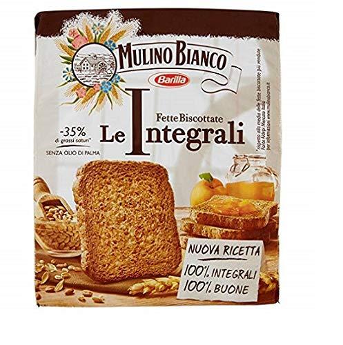 Mulino Bianco Fette Biscottate Volkoren 315 g Vollkorn Zwieback aus italien