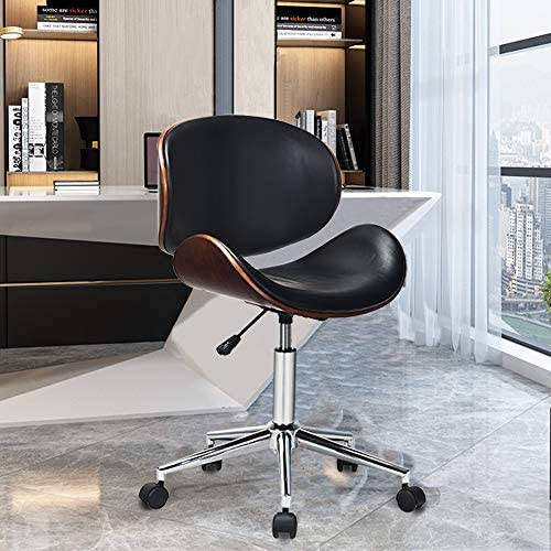 EASIGO Adjustable Modern Mid Century Office Chair with Curved Seat Back Swivel Executive Chair product image