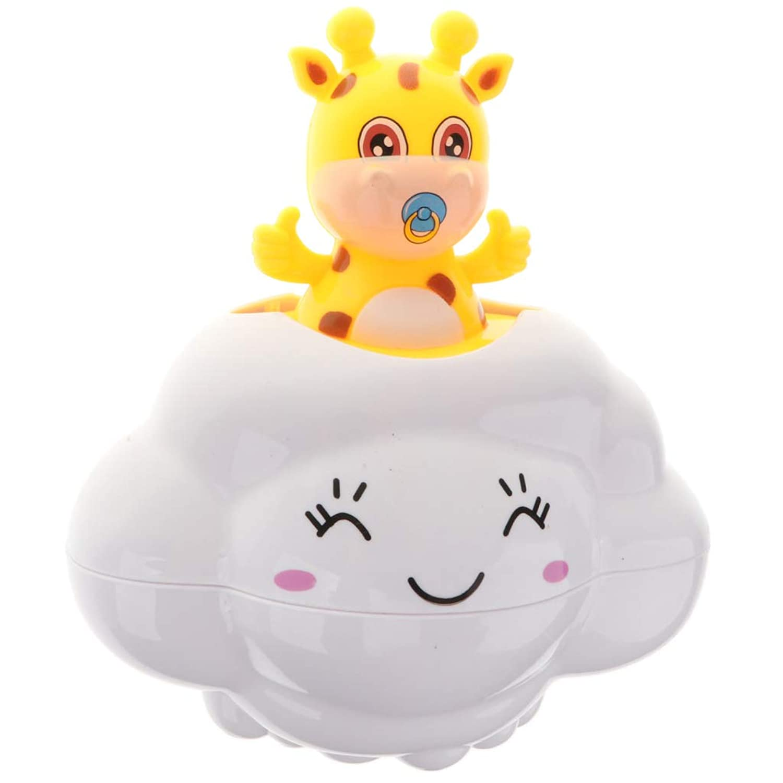 KESOTO 水のおもちゃ 雨雲形 創造的 ベビー 幼児用 シャワーおもちゃ バスおもちゃ - キリン