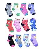 Isakaa Baby Boy's and Baby Girl's Fleece and Fairy Cotton Socks (1-2 Years)