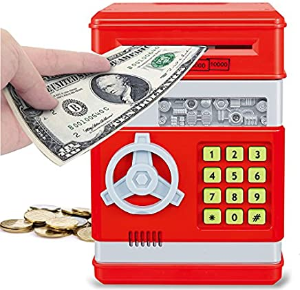 Liberty Imports Electronic Money Safe Piggy Bank with...
