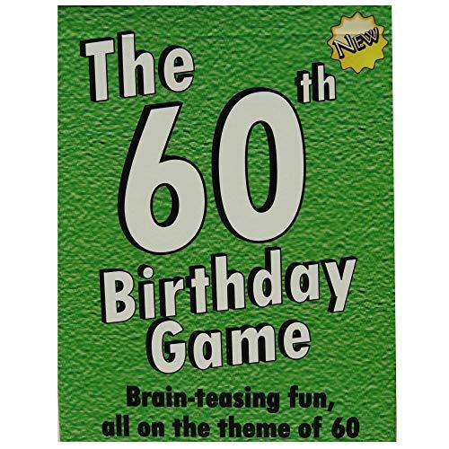 The 60th Birthday Game. Fun new 60th birthday...