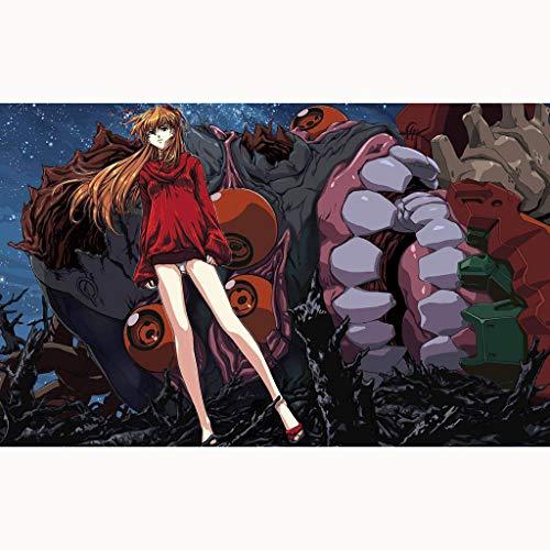Yizhi Rompecabezas Neon Genesis Evangelion Asuka Langley Soryu Puzzle 300/1000/500/1500 Piezas(Size:1000 Piece)