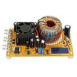 Módulo de instalación Aramox, módulo de fuente de alimentación reductor de convertidor de CC ajustable de 8-40 V a 0-32 V, 50 A