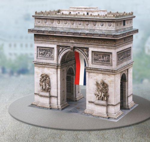 Aue Verlag 21x 20x 21cm Kit de Modelo Arco de Triunfo de París
