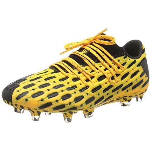 PUMA Future 5.1 Netfit Low FG/AG, Scarpe da Calcio Uomo, Giallo (Ultra Yellow Black), 42 EU