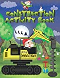 Construction Activity Book For For Toddlers: Construction Tracing Coloring Pages - Spot the Difference Books For Kids - Things That Go Activity Book ... - Christmas Constuction Game Book For Kids -
