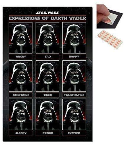 Jigsaw Puzzles 1000 Star Wars Expressions of Darth Vader Poster