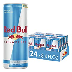 Red bull sugarfree no sugars, just wings Red Bull sugar free is Red Bull Energy Drink, but sugar free Only 5 calories per each red bull sugarFree can of 8.4 fluid ounce Red Bull sugarfree's formula contains high quality ingredients: Caffeine, Taurine...