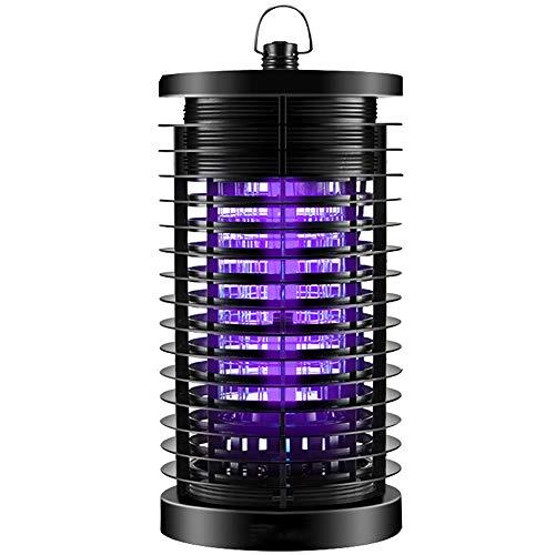 Mosquito Lamp Wiederaufladbare USB-Anti-Fotokatalysator-Lampe mit LED-Lichtfalle (schwarz)