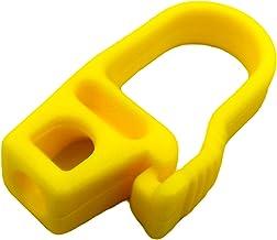 Kombi 20 stuks kunststof haken elastisch touw 8 mm PVC bootzeil uittrekzeil karabijnhaak kunststof touw elastisch touw 20 ...