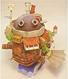 3D Cubo Papel Molde Howl's Mover Castle Vuelo Versión Papel Craft Hecho A Mano Origami Modelo DIY Puzzle Montaje Papel Juguete para Adultos Niños