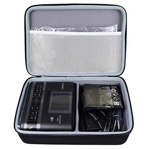 WERICO Duro Estuche Viajes Funda Bolso para Canon Selphy CP1300 CP1200 - Impresora fotográfica inalámbrica