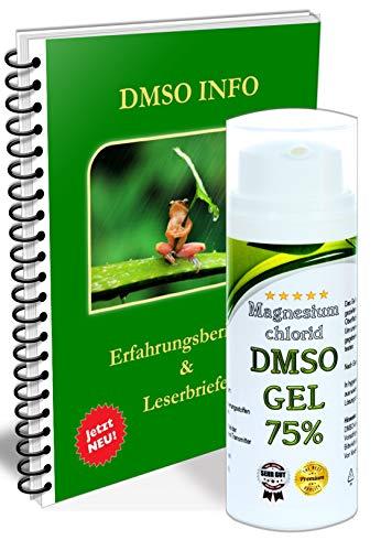DMSO Magnesium Gel -Salbe Magnesiumöl Dimethylsulfoxid 99,9% mit gratis Handbuch Anwendung Wirkung 50ml